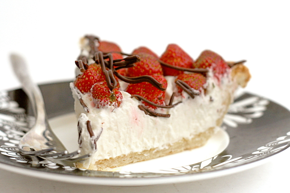 trifle strawberries and cream cake strawberries and cream tart with ...