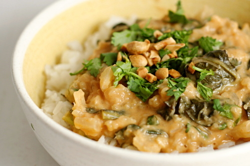 african pineapple peanut stew