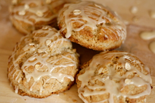 Oat And Maple Syrup Scones Recipes — Dishmaps